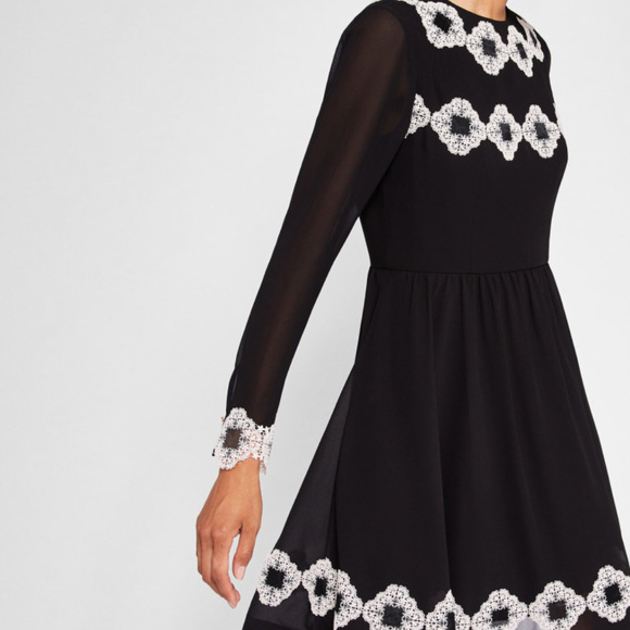 Ted Baker London Dresses & Skirts - Ted Baker London Applique Detail Dress NWT 77% off